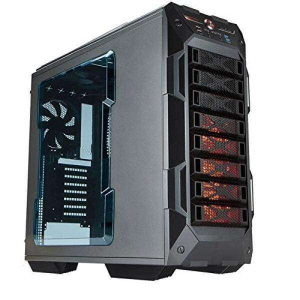 In Win GR One/Gray Sleek SECC ATX Full Tower Computer Case ATX 12V/EPS Power Supply Compatible Malaysia