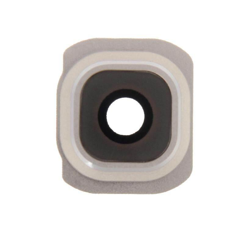 10 Pcs Lensa Kamera Pengganti Cover untuk Galaxy S6/G920F (Emas)