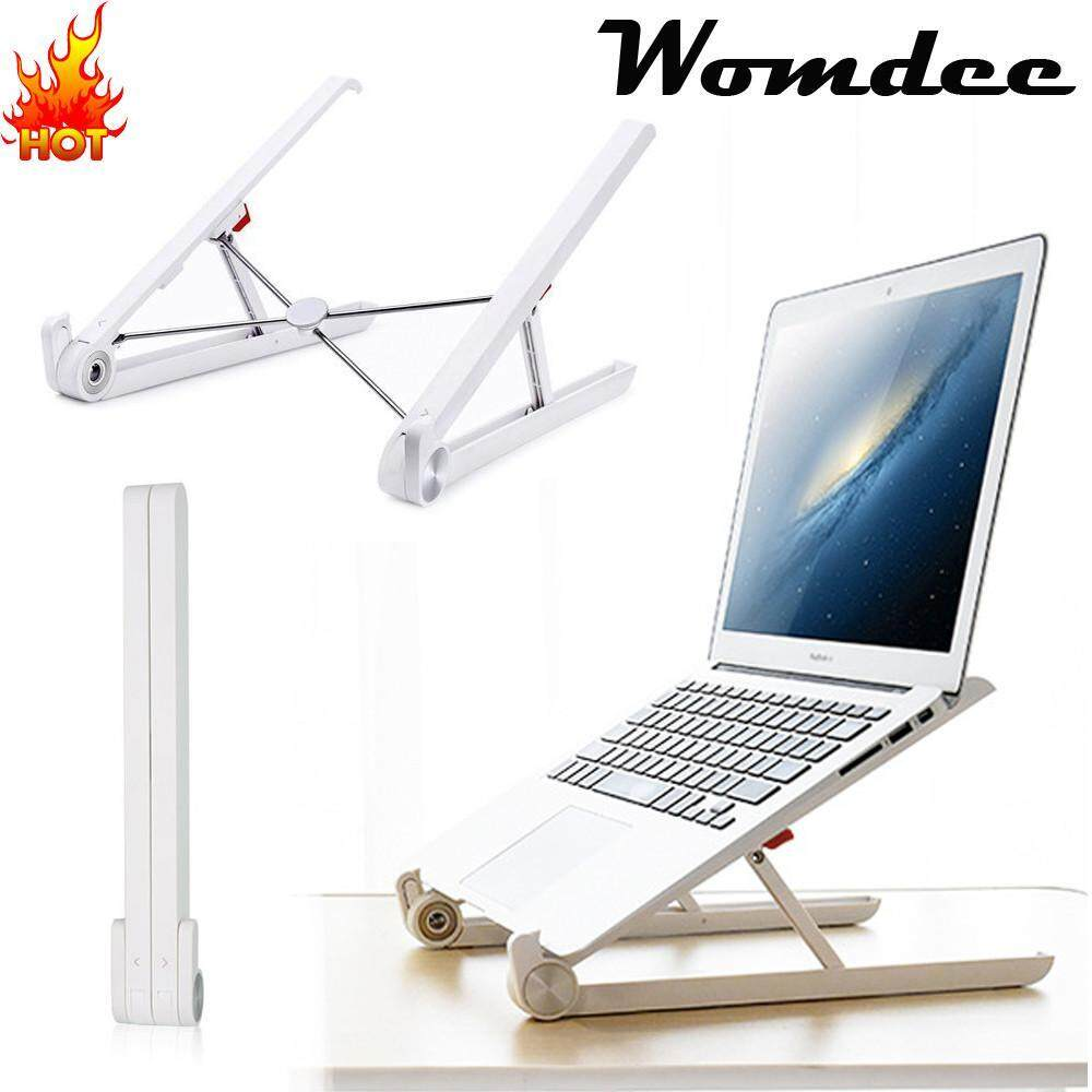 Kobwa Portable Laptop Desk Stand Foldable Ventilated Suitable For 11-15.6 Inch - intl