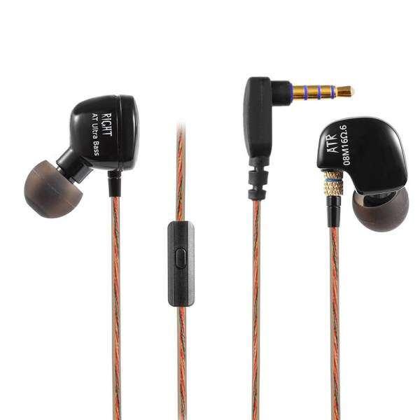 KZ ATR Dynamic Heavy Bass HiFi In-ear Earphones Noise Canceling with Mic 3.5mm