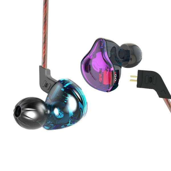 KZ ZST Wired Cable Detachable Noise-canceling In-ear Earphones Malaysia