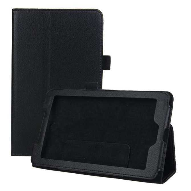 Leather Case Cover Stand for Acer Iconia Tab 7 A1-713 7inch Tablet PC Black - intl