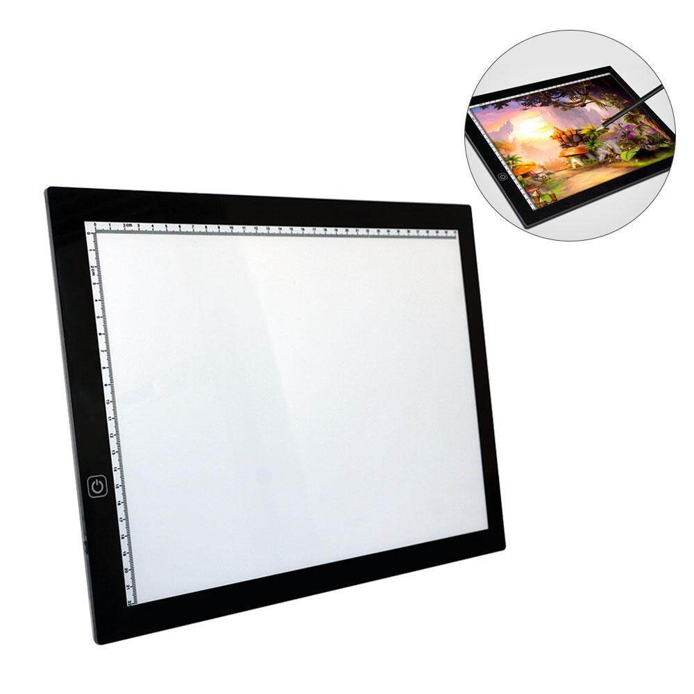 Hình ảnh leegoal LED Copy Board ,Super Thin A4 Light Box Tracing Pad LED Art Drawing Board USB Power Light Pad For Professionals And Students - intl