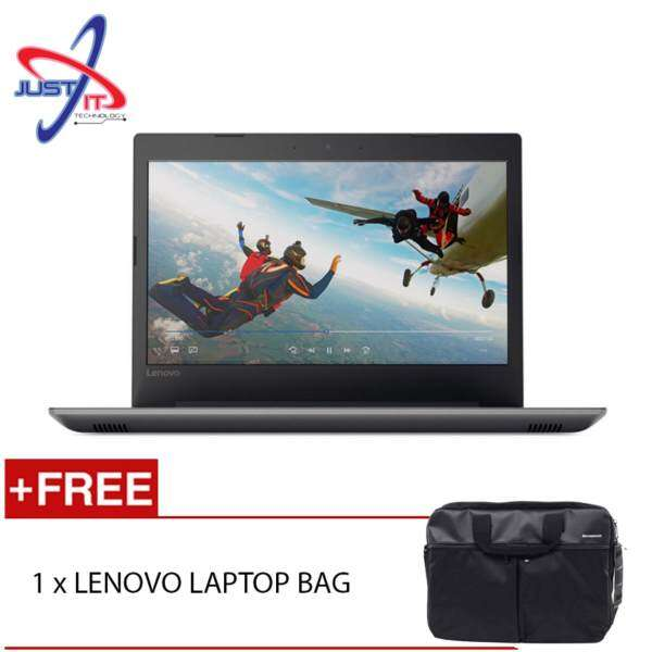 LENOVO 80XK004MMJ IP320-14IKBN I5-7200U 4GD4 2TB 940MX 2GD5 WIN10H (BLACK) FREE LENOVO CARRY BAG Malaysia