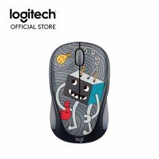 Logitech M238 Doodle Collection Wireless Mouse - lightbulb (910-005057) Malaysia