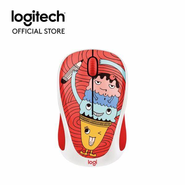 Logitech M238 Doodle Collection Wireless Mouse - Triple Scoop  (910-005059) Malaysia