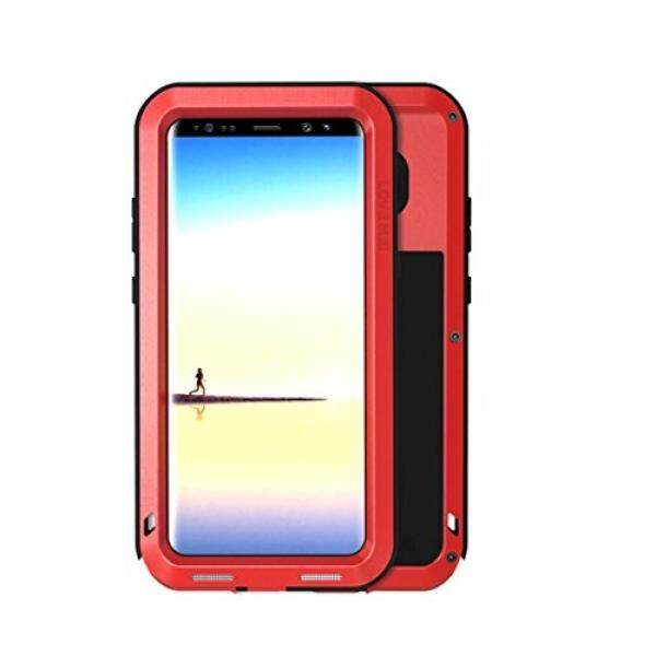 CINTA MEI Galaksi Note 8 Case Logam Ekstrim Aluminium Militer Berat Tugas Anti Guncangan Air Tahan Debu/Kotoran/Salju tahan Perlindungan Sarung untuk Samsung Galaksi Note 8 (Merah) -Internasional