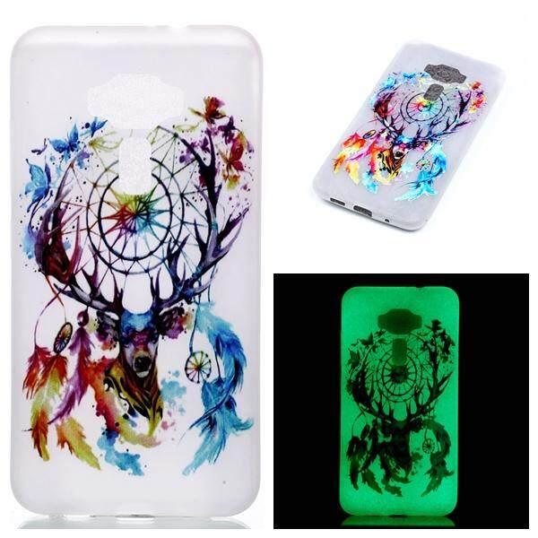 Luminous Effect Soft TPU Gel Cover For Asus ZenFone 3 ZE520KL 5.2 inch (Dream Catcher