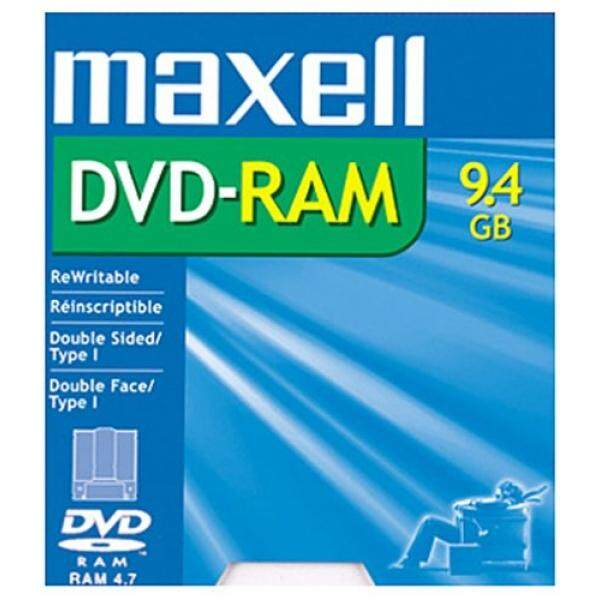 Maxell DVD-RAM Media 9.4GB Double Sided Rewritable (1-Pack) - intl