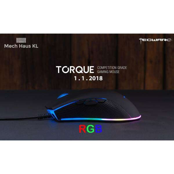 [Mech Haus] Tecware Torque RGB Competition Mouse (Pixart) Malaysia
