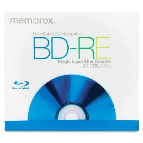 Memorex 2x BD-RE Media 05502 - intl