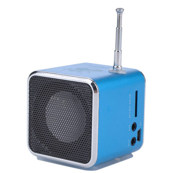 FADDARE 1 * Portable LCD USB Mini Stereo MP3 Music Player Speaker FM SD TF Rechargeable Malaysia