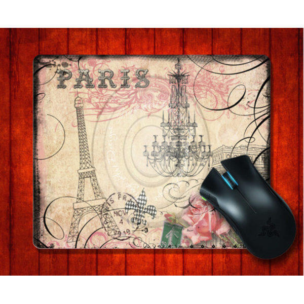 MousePad Vintage Paris for Mouse mat 240*200*3mm Gaming Mice Pad Malaysia