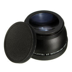 Neewer 52mm 2X Telephoto Lens for or Nikon D3100 D5200 D5100 D7100 D90 D60 and Other DSLR Camera Lenses with 52MM Filter Thread (Intl) NEW - intl