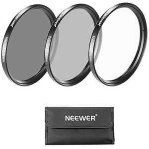 Hình thu nhỏ Neewer 52MM Camera Lens Filter Kit: UV, CPL, ND4 Filter and Carrying Pouch for NIKON D3100 D5200 D5100 D5000,CANON EOS M Compact, PENTAX K-5