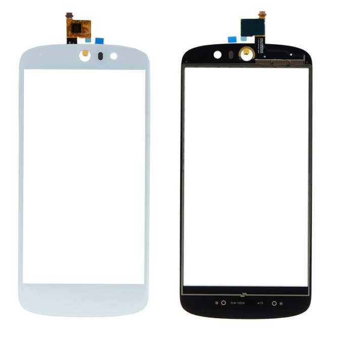 New Front Glass For Acer Liquid Z530 Touch Screen Digitizer Outer Glass Panel Replacement VIA74 T0.35 - intl