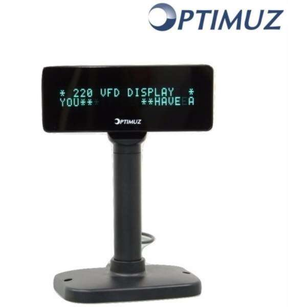 Optimuz VFD7220 Pole Display -USB Malaysia