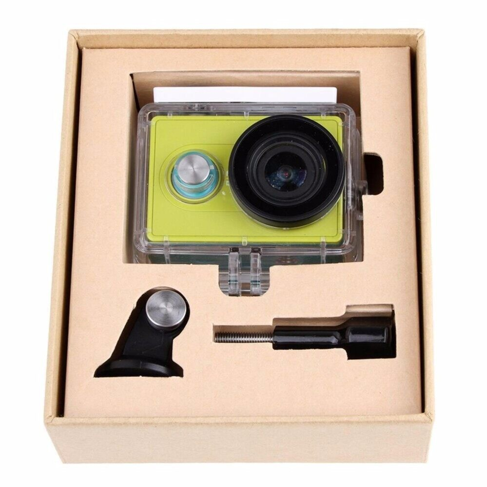 Buy Hd Xiaoyi Camera Camcorder Xiaomi Yi Internasional Original 100 Action Cam Xiomi 40 Meters Waterproof Millet Shell House Box Small Ants Shelling 40m Underwater For