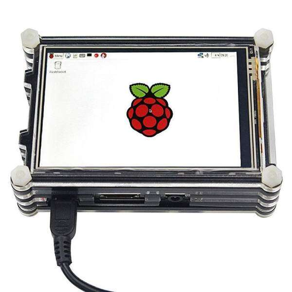Oscar Store 3.5 LCD TFT Touch Screen Kit with 9 Layer Case Replacement For Raspberry pi Malaysia