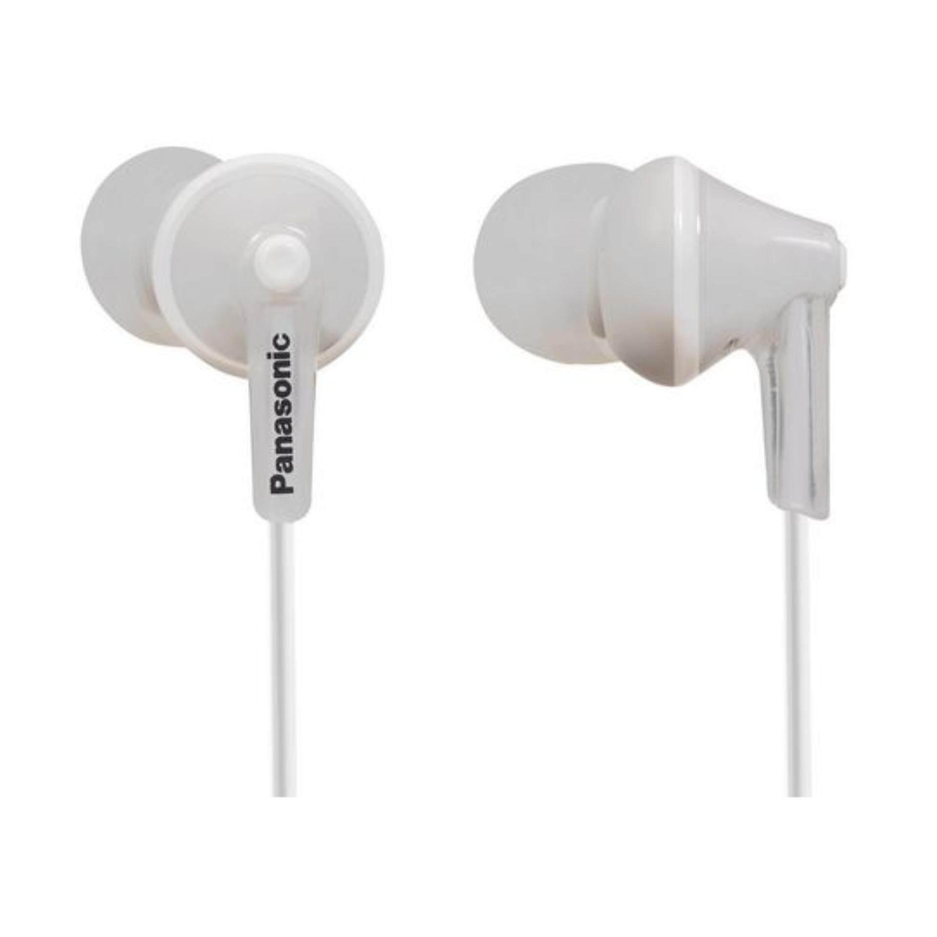 Panasonic RP-HJE125-W Stereo In Ear Canal Bud Ergofit Headphones RPHJE125 White -