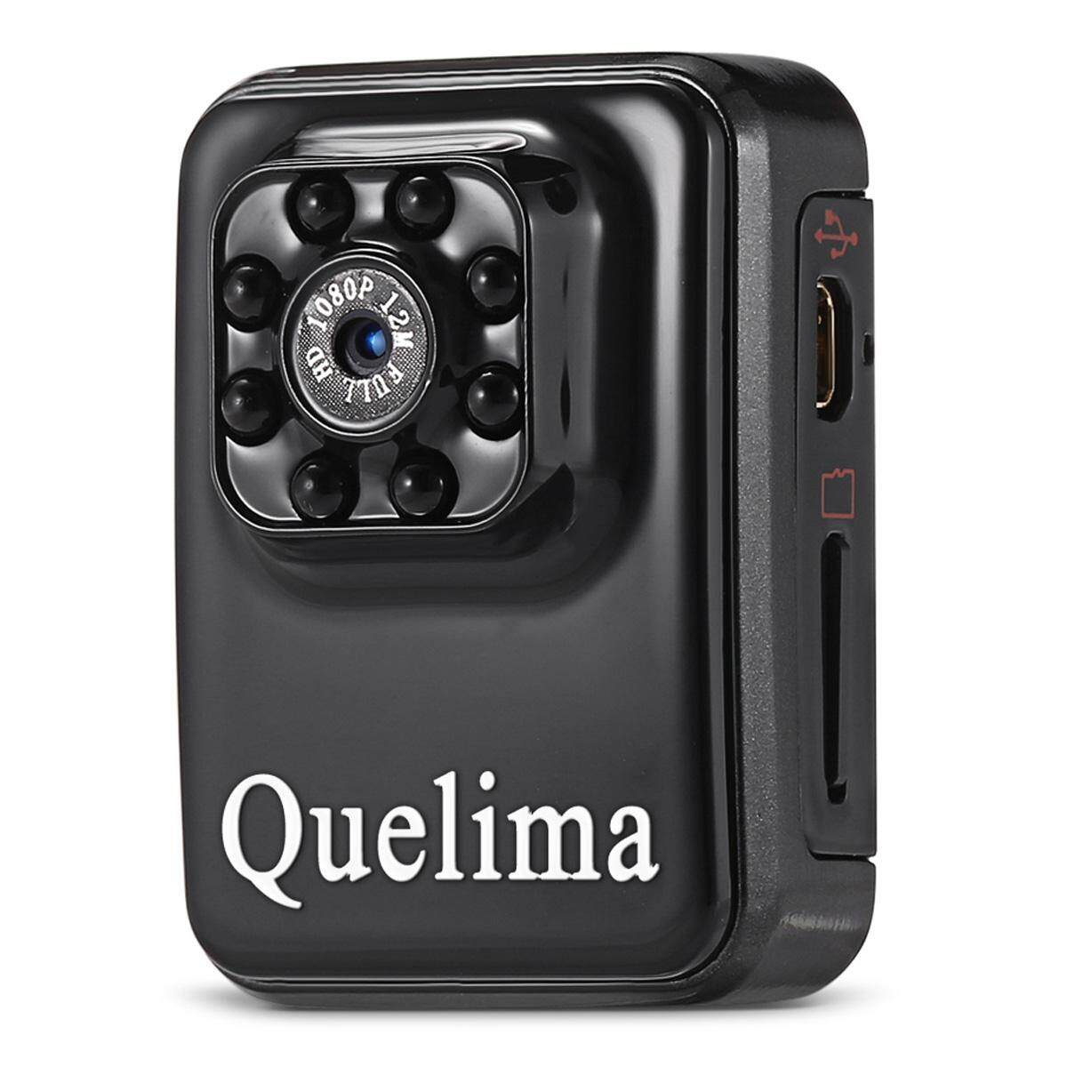 Quelima Wi-Fi Edition Mini Recorder DVR w/ IR Night Vision - Black - intl