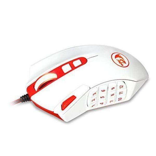 aaeb1142d41 Redragon M901 PERDITION 16400 DPI Programmable Laser Gaming Mouse for PC,  MMO, 18 Programmable Buttons, ...