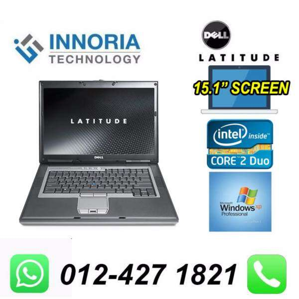 (Refurbished Notebook) DELL LATITUDE D830 LAPTOP / Core 2 Duo / 15.1 LCD / 80GB Hard Disk / 2GB Ram / Windown XP Malaysia