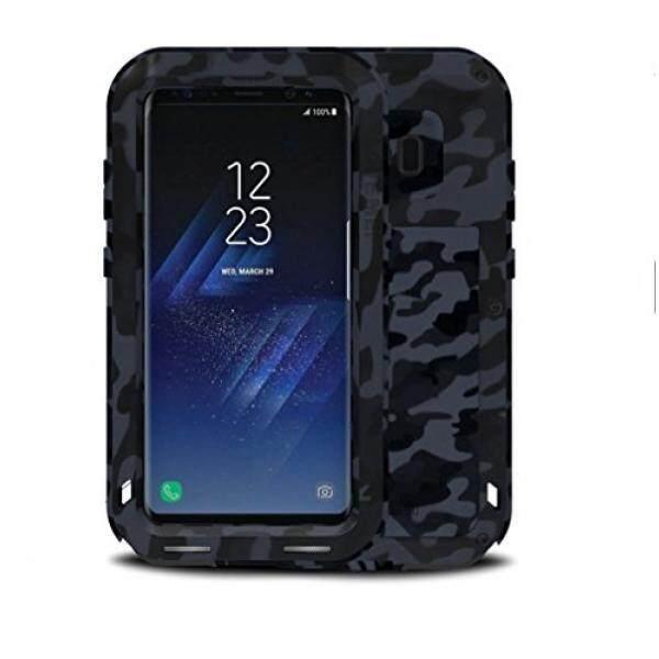 Samsung Galaksi S8 PLUS Logam Case, CINTA MEI Camo Seri Berat Tugas Pelindung Tangki Debu Ekstrim Anti Guncangan/Kotoran Tahan Aluminium Logam Case Sarung Anda samsung Galaksi S8 Plus (6.2 Inci) (Kota)-Internasional