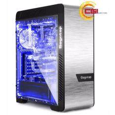 Segotep EOS Aluminum Tempered Glass ( 2 Side ) ATX Gaming Case - Silver Malaysia