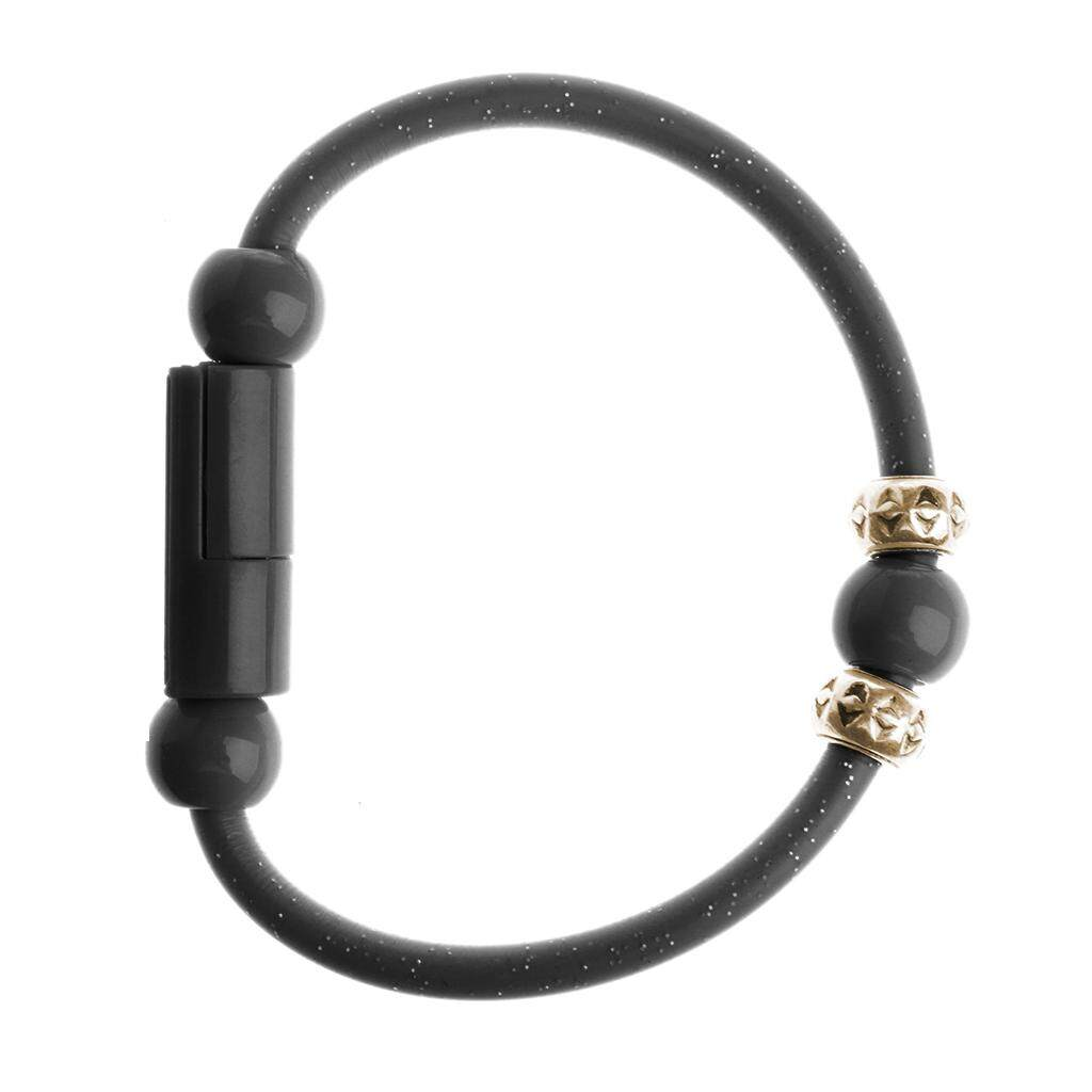 Short Roud Bead Bracelet USB Type C Data Sync Charging Cable For Android Phone - intl