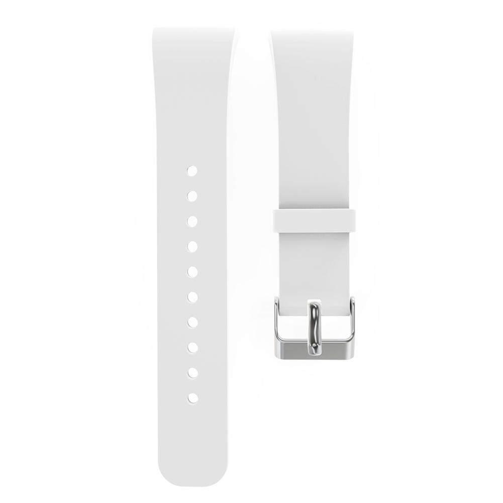 Hình ảnh Silicone Dây Đeo Dành Cho Samsung Gear Fit 2 SM-R360 Đồng Hồ Thông Minh (Màu Trắng)-quốc tế