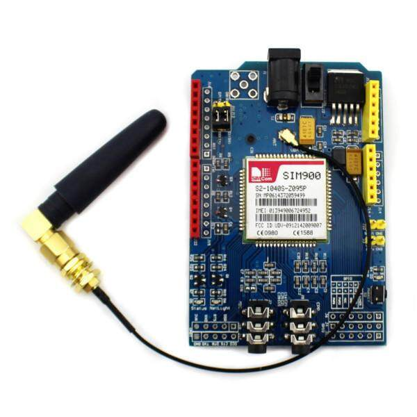 SIM900 Quad-band GSM GPRS Shield Development Board For Arduino - intl