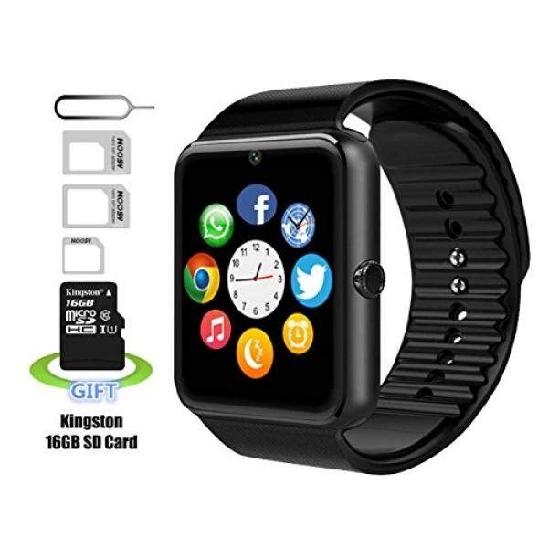 Smart watch,Andriod smart watch,iphone smart watch, Pushman YG8,Daily Waterproof,Sweatproof, SmartPhones,smart watch for Android,smart watch for iphone6/6s/7(Black) - intl