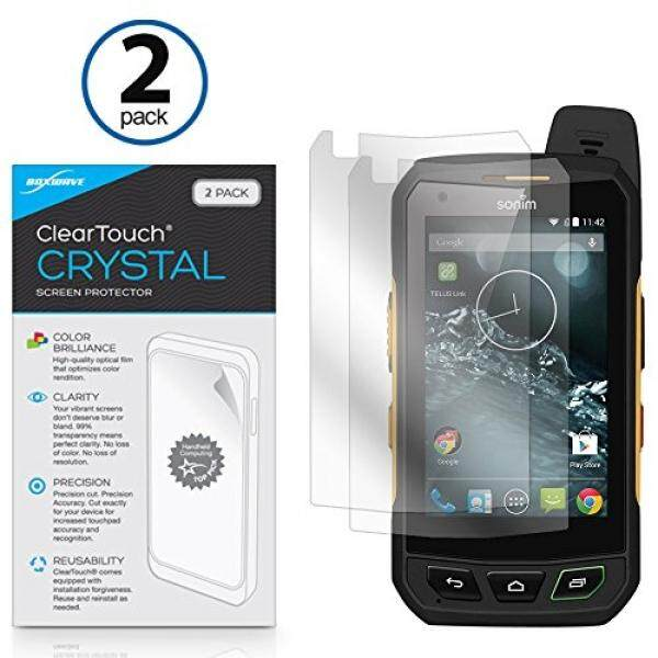 Sonim XP7 Screen Protector, BoxWave [ClearTouch Crystal (2-Pack)] HD Film Skin - Shields From Scratches for Sonim XP7 - intl