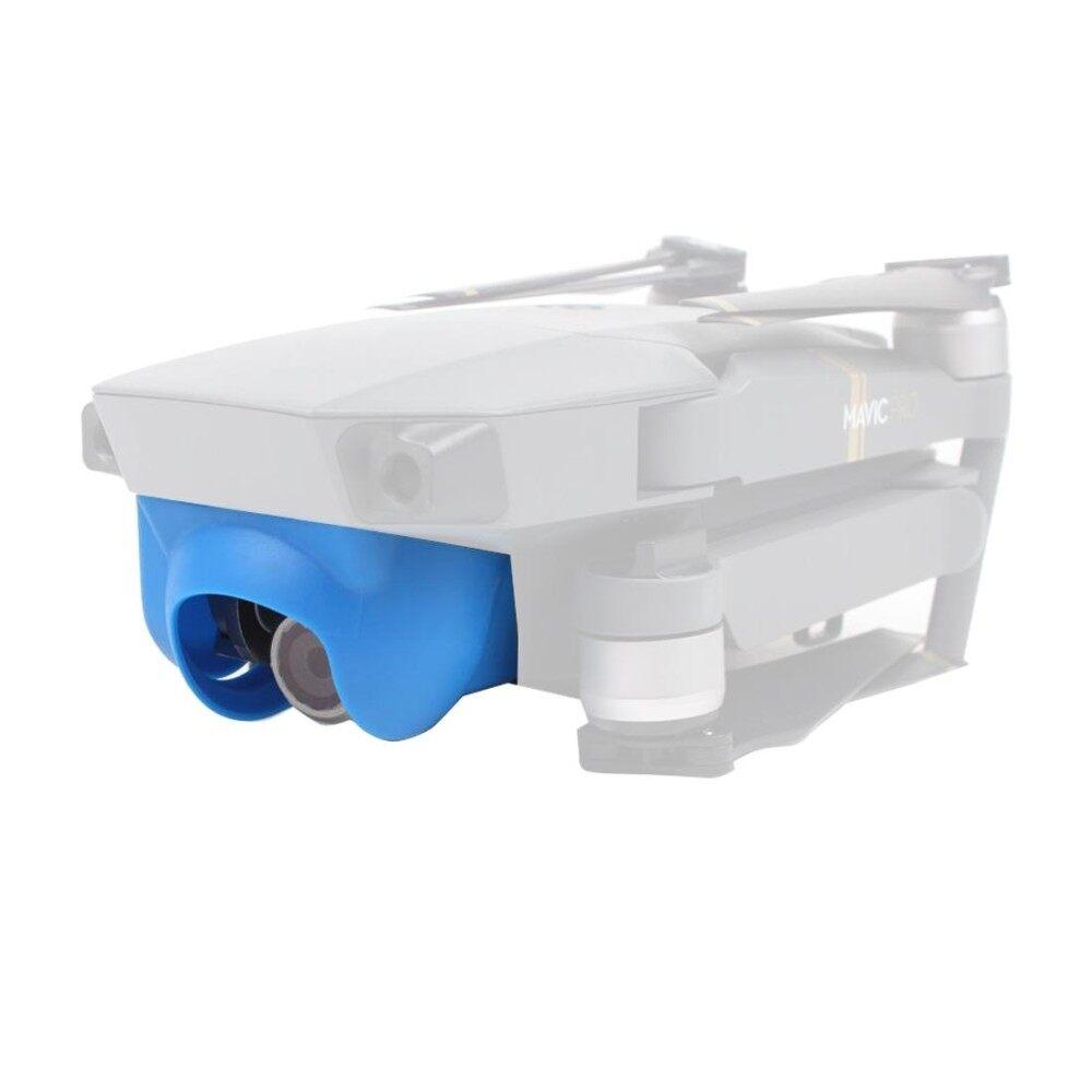 Matahari Perisai Silau Gimbal Bayangan Lensa Kamera Tudung Anti Refleksi Cahaya Gimbal Sarung Pelindung untuk DJI Mavic Pro (Biru) -Internasional