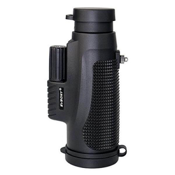 SVBONY SV-11 Monocular Scope 10 × 42 Waterproof Fogproof Fokus Tangan Tunggal Outdoor IPX7 untuk Menembak Berburu Burung Menonton Perjalanan Hiking Konser-Intl