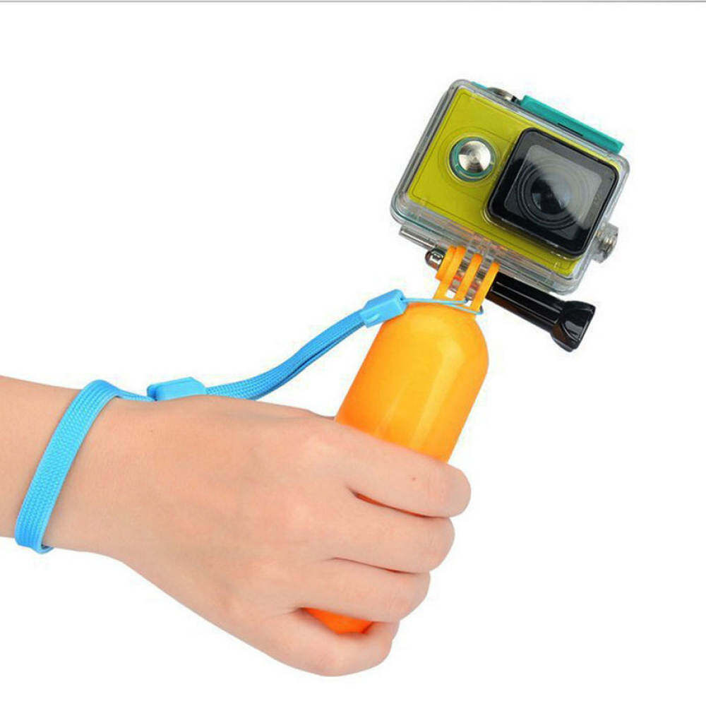 SW Floating Hand Grip Handle Mount Accessory Float for GoPro Hero12 3 3+ 4 Camera (Orange)