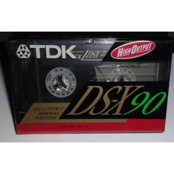 TDK DS-X 90 Blank Cassette Tape - intl