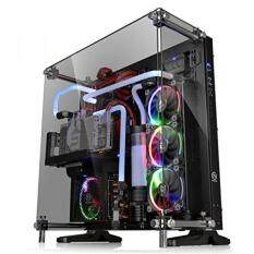 Thermaltake Core P5 Tempered Glass Black Edition ATX Open Frame Panoramic Viewing Tt LCS Certified Gaming Computer Case CA-1E7-00M1WN-03 Malaysia