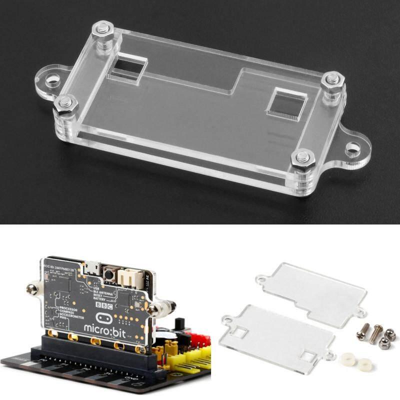 Transparent Acrylic Shell Kit For BBC Micro: bit Development Board Protection Shell - intl