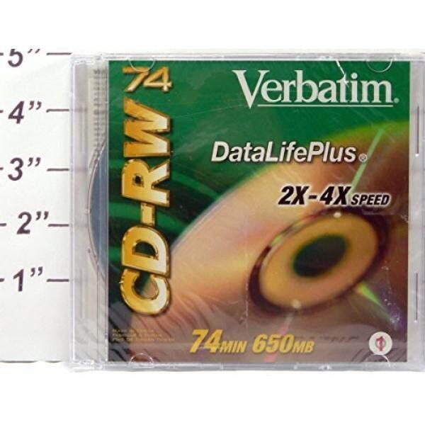 Verbatim DataLifePlus 650MB 2X-4X Rewritable Disc & Verbatim CD-R 80 DataLifePlus 700MB Super AZO - intl