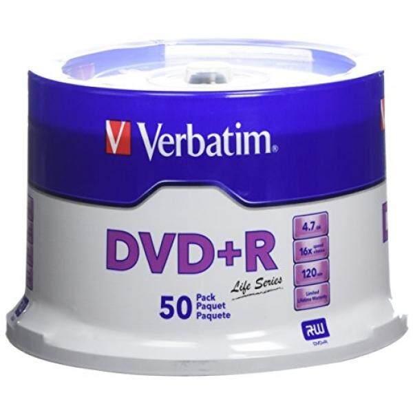 Verbatim Life Series DVD+R Spindle, Pack Of 50 97174 - intl