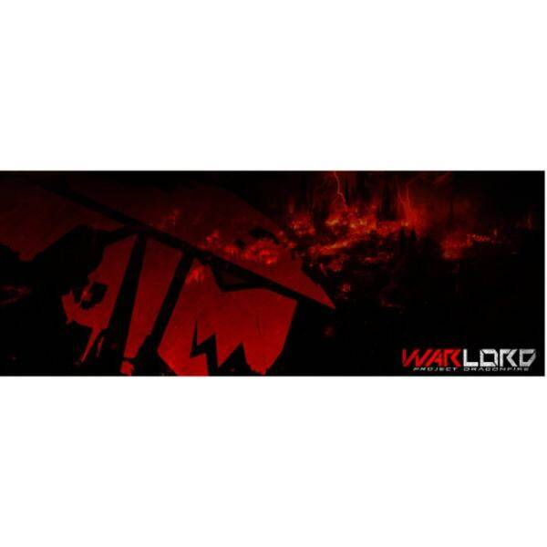 Warlord Project DragonFire Professional Extended Gaming Mouse Mat Malaysia