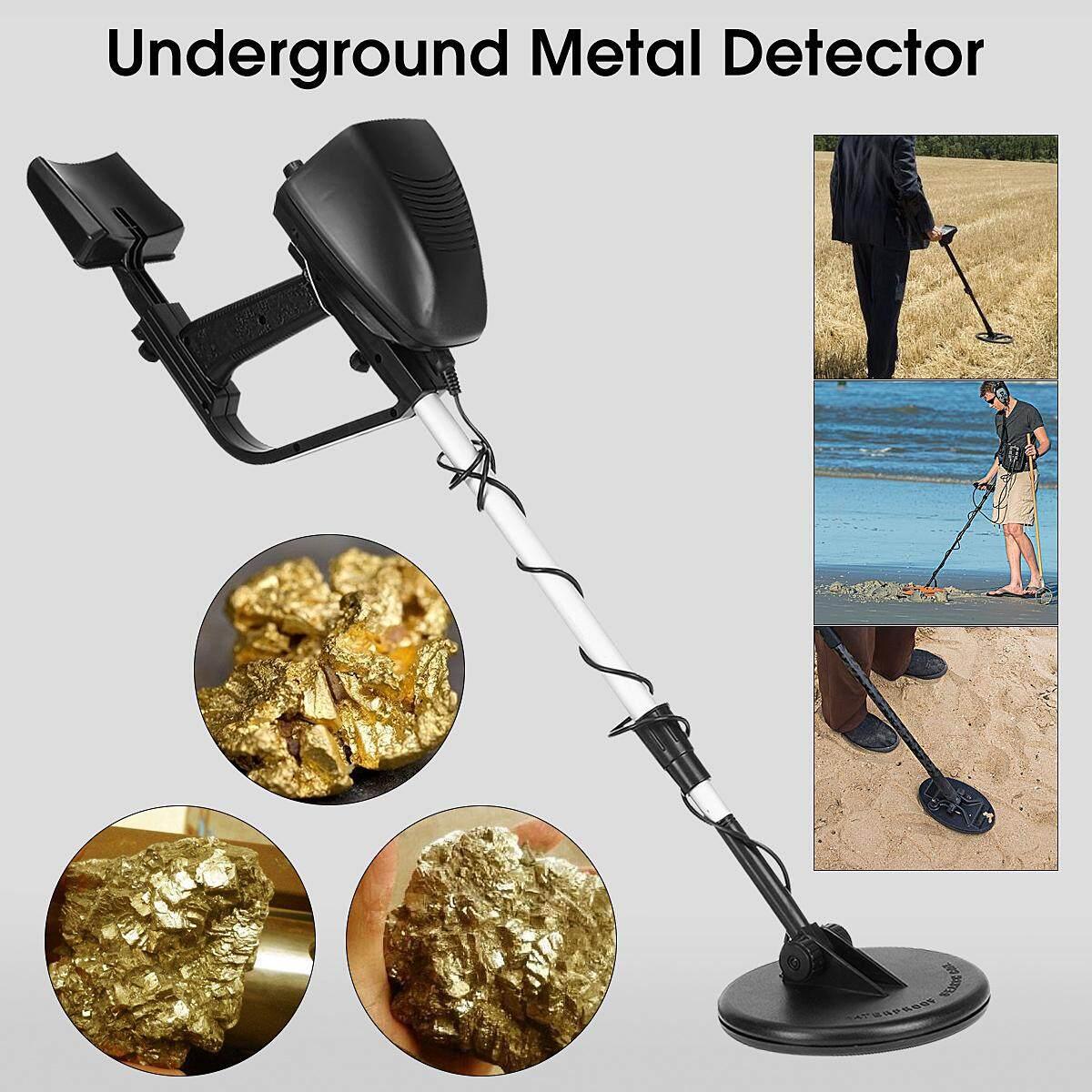 Hình ảnh Waterproof Metal Detector Underground Coins Gold Digger Treasure Hunter Finder - intl
