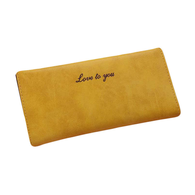 2015 Hot Sale Women PU Leather Long Clutch Wallets. Girls CandyColor Cute Simple Purse Card