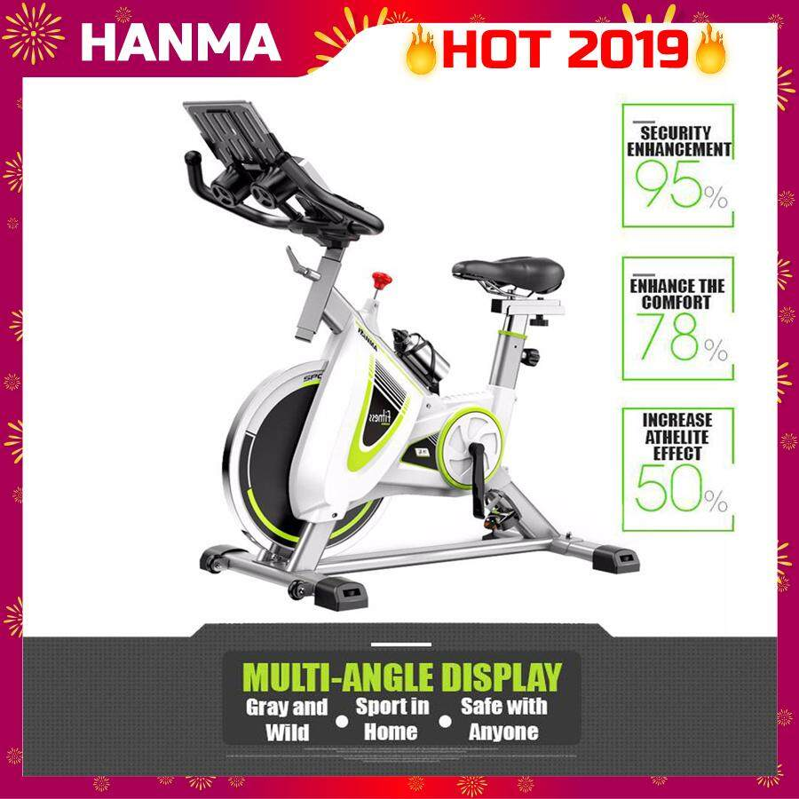 HANMA [NP498] XC Dynamic Bicycle Spring Exercise Bike Indoor Cycle Trainer Gym Workout Fitness