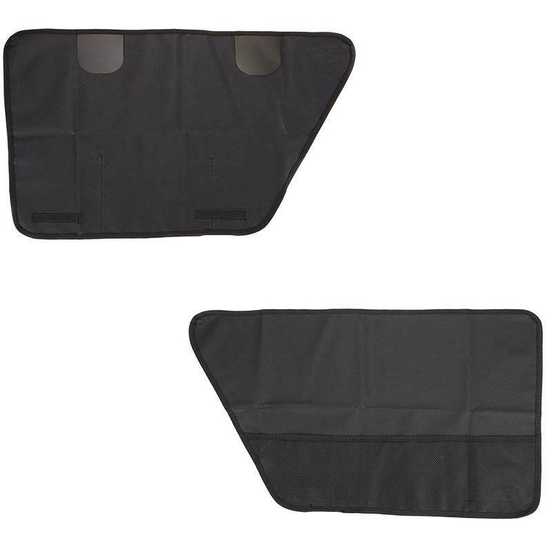 Hossen 1 Pair Universal Pet Car Décor Protector Cover Waterproof Non-slip Durable Car Décor Cover - intl