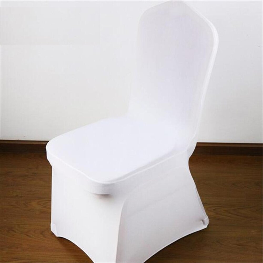 10pcs Wedding Banquet Chair Cover Stretch Spandex Seat Party Dining Room Decor - intl giá rẻ