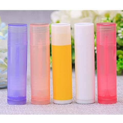 Lb 10 Pcs/set 5 Ml Lipstik Diy Termos Lipstik Tube Lip Balm Lipstik Wadah Contoh Kosmetik Volume Kontainer: Transparan 3
