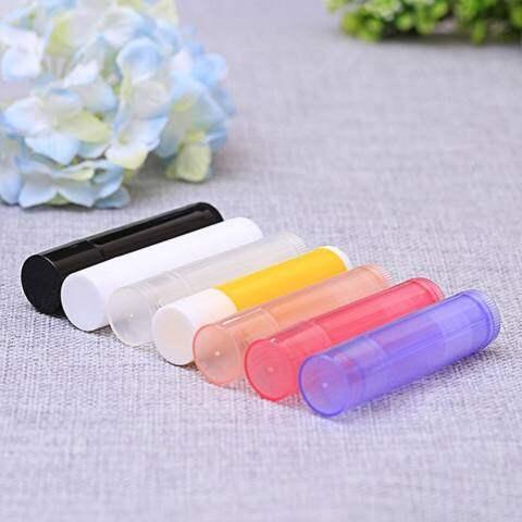 Lb 10 Pcs/set 5 Ml Lipstik Diy Termos Lipstik Tube Lip Balm Lipstik Wadah Contoh Kosmetik Volume Kontainer: Transparan 2